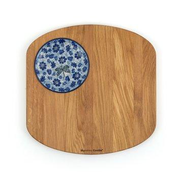 Planche de bois de chêne Carré