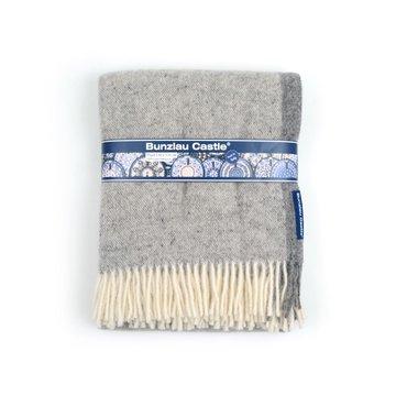 Wollen deken Grijs